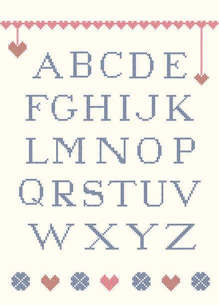 abecedario punto de cruz winnie the pooh