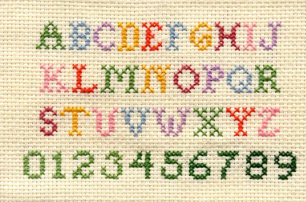 abecedario a punto de cruz para bebes