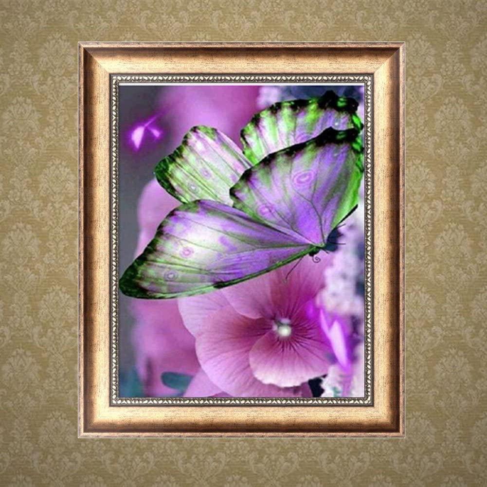 mariposas punto de cruz pequeñas