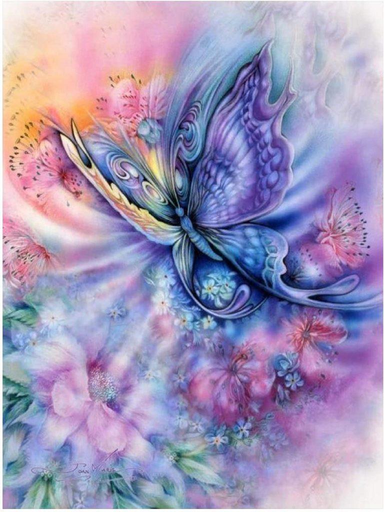 mariposas punto de cruz patrones