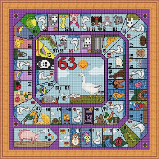 juegos de punto de cruz de animales