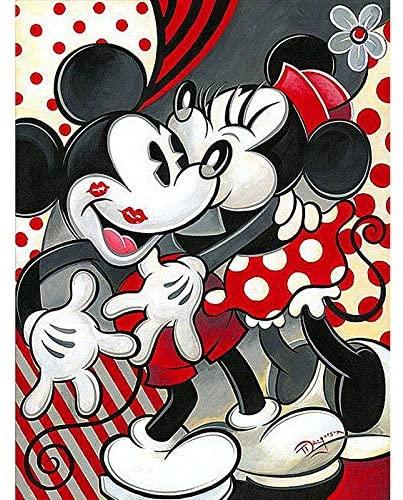 mickey mouse punto de cruz baberos